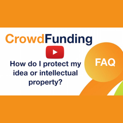 How do I protect my crowdfunding intellectual property?