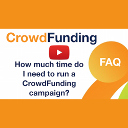 How much time do I need to run a crowdfunding campaign?