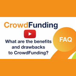 What are the benefits and drawbacks to crowdfunding?