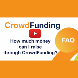 How much money can I raise through crowdfunding?