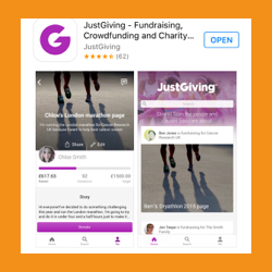 Just Giving Crowdfunding App