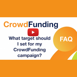 What target should I set for my crowdfunding campaign?